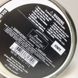Bath & Body Works Accents - PASSION 3 Wick Candle  *FIRM*